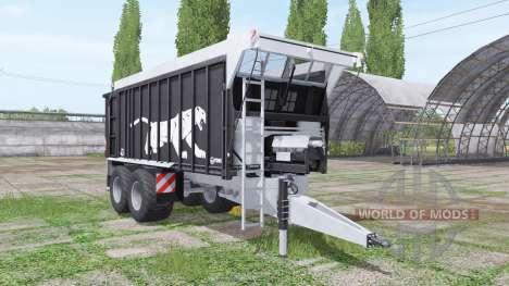 Fliegl ASW 271 Black Panther v1.3 для Farming Simulator 2017