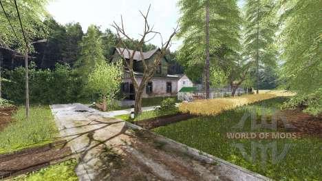 Polska wieś для Farming Simulator 2017
