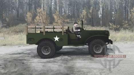 Dodge WC-51 (T214) 1942 для Spintires MudRunner