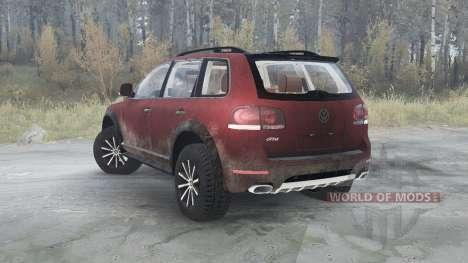 Volkswagen Touareg R50 (Typ 7L) 2007 для Spintires MudRunner