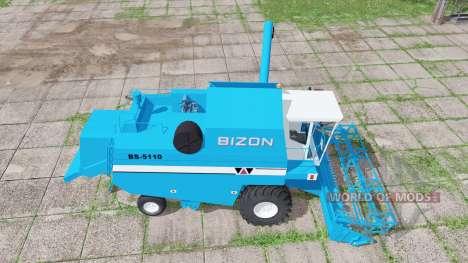 Bizon BS-5110 edit для Farming Simulator 2017