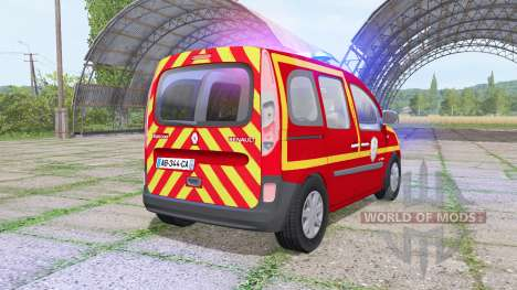 Renault Kangoo Extrem 2013 Sapeurs-Pompiers для Farming Simulator 2017