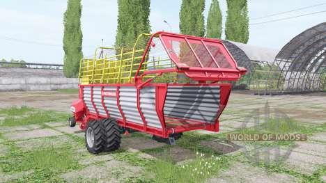 POTTINGER EUROBOSS 330 T twin tires v2.0 для Farming Simulator 2017
