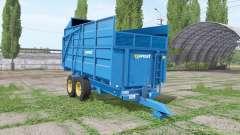 Harry West 10t silage v1.1.1 для Farming Simulator 2017