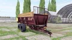 МТТ 9 для Farming Simulator 2017
