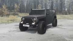 Jeep Wrangler Unlimited Rubicon (JK) off-road для MudRunner