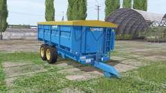 Harry West 10t grain v1.1.1 для Farming Simulator 2017