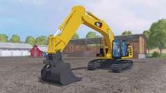 Caterpillar 329E LN для Farming Simulator 2015