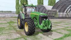 John Deere 8520 v3.0 для Farming Simulator 2017