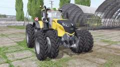 Challenger 1050 Vario double wheels для Farming Simulator 2017