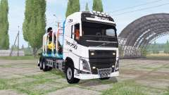 Volvo FH16 750 6x4 Globetrotter Timber Truck