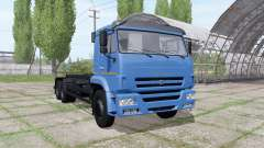 КАМАЗ 658667 v1.2 для Farming Simulator 2017