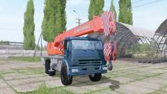 КАМАЗ 65222 2009 кран для Farming Simulator 2017