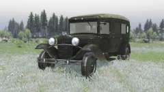 ГАЗ 55 1938 Санитарный