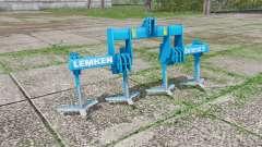 LEMKEN Dolomit 9-300 plow v2.2 для Farming Simulator 2017