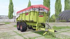 CLAAS Carat 180 T v1.0.1 для Farming Simulator 2017