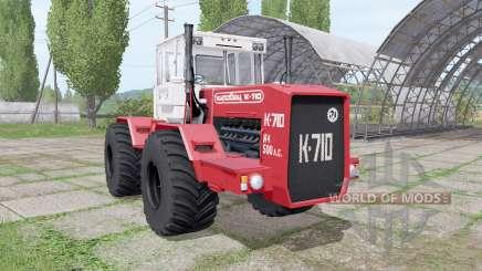 Кировец К 710 v1.4 для Farming Simulator 2017