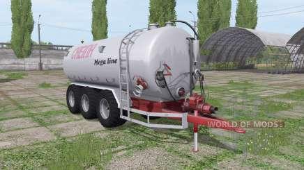 Creina CVC 25000 TRI для Farming Simulator 2017