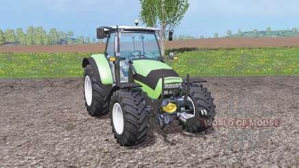 Deutz-Fahr Agrotron K 420 front loader для Farming Simulator 2015