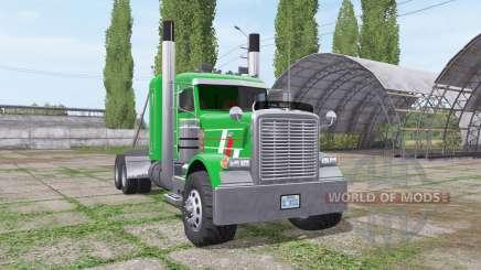 Peterbilt 379 Flat Top v1.01 для Farming Simulator 2017