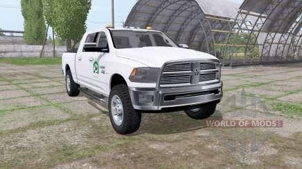 Dodge Ram 2500 Crew Cab для Farming Simulator 2017