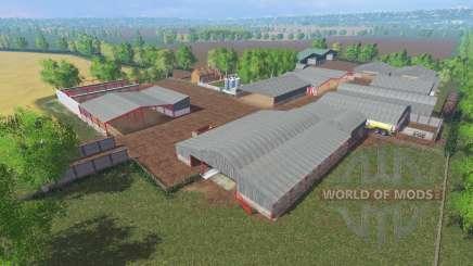 Bowden Farm v1.1 для Farming Simulator 2015