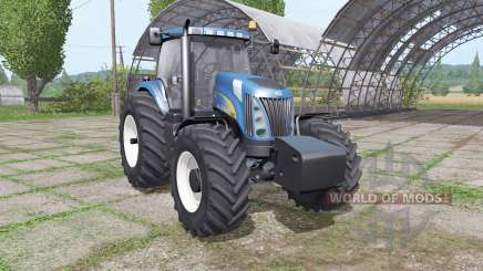 New Holland TG285 SuperSteer для Farming Simulator 2017