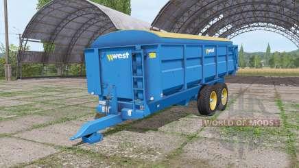 Harry West 12t grain v1.1.1 для Farming Simulator 2017