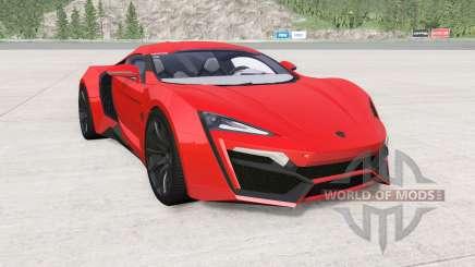 W Motors Lykan HyperSport 2014 для BeamNG Drive