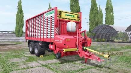 POTTINGER JUMBO 7210 combiline v1.4.1 для Farming Simulator 2017