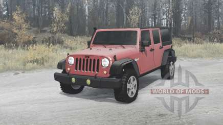 Jeep Wrangler Unlimited Rubicon (JK) 2006 для MudRunner