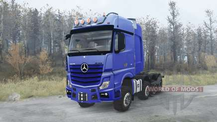 Mercedes-Benz Actros 4163 SLT (MP4) 8x8 для MudRunner