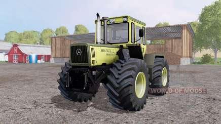 Mercedes-Benz Trac 1600 Turbo front loader для Farming Simulator 2015