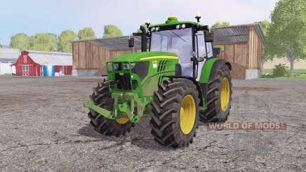 John Deere 6140M front loader для Farming Simulator 2015