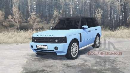 Land Rover Range Rover Sport (L320) Pontorezka для MudRunner