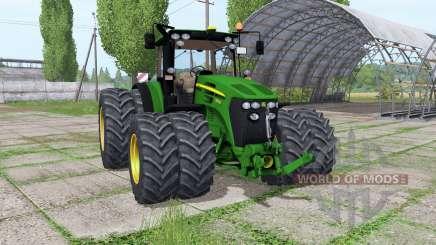 John Deere 7930 twin wheels Trelleborg для Farming Simulator 2017