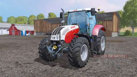 Steyr 6130 CVT EcoTech для Farming Simulator 2015
