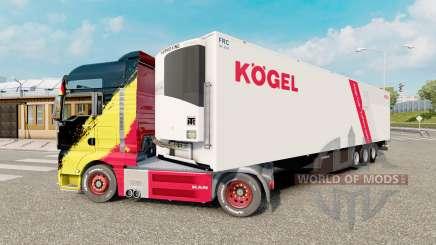 Trailer Kogel Cool для Euro Truck Simulator 2