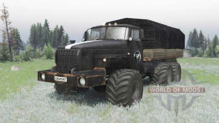 Урал 4320 custom off-road v1.1 для Spin Tires