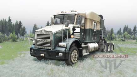 Kenworth T800 4-axes для Spin Tires