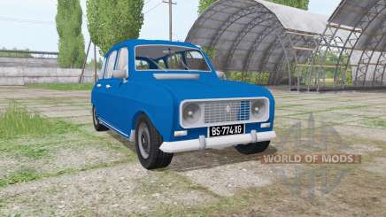 Renault 4L для Farming Simulator 2017