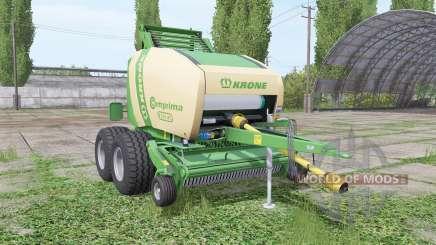 Krone Comprima F155 XC v1.1 для Farming Simulator 2017