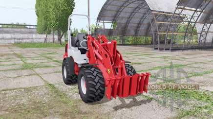 Weidemann 1770 CX 50 v1.1 для Farming Simulator 2017