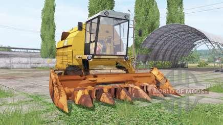 Bizon Gigant Z083 для Farming Simulator 2017