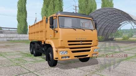 КАМАЗ 45143-6012-23 v1.0.0.1 для Farming Simulator 2017