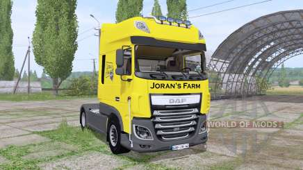 DAF XF 510 FT Super Space Cab 2013 для Farming Simulator 2017