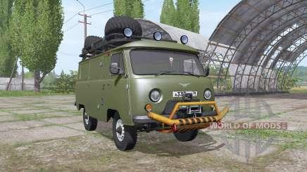 УАЗ 3741 1985 для Farming Simulator 2017