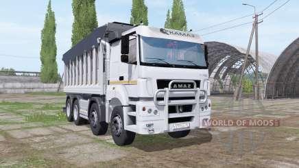 КАМАЗ 65201 v1.1 для Farming Simulator 2017