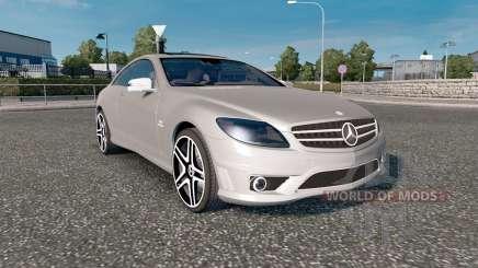 Mercedes-Benz CL 65 AMG (C216) 2007 для Euro Truck Simulator 2