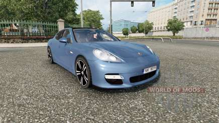 Porsche Panamera Sport (970) 2010 v2.0 для Euro Truck Simulator 2